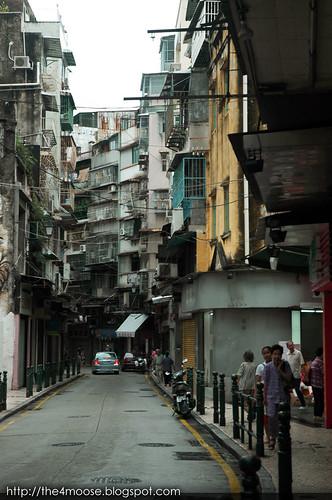 Macau - Rua de Mercadores 大街
