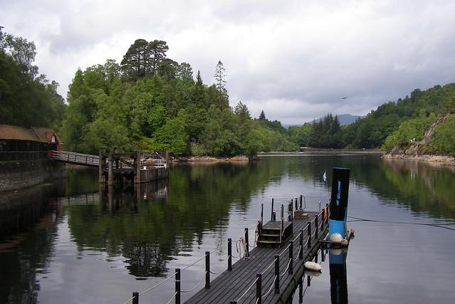 Loch Katrine - Pier