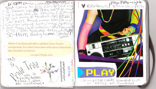 Journal #25 pages 57 & 58