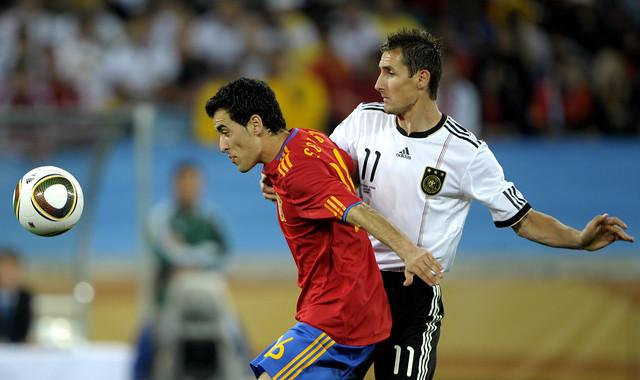 España Alemania Semifinal Mundial Miroslav Klose