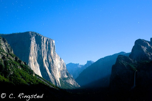 Tunnel View...Full Moon'd