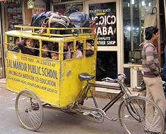 indian school-bus-cycle