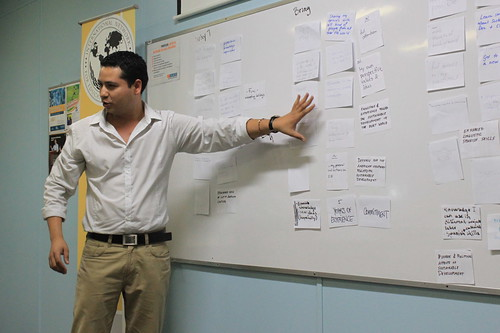 Leonardo Velasquez, INEX Director for Central America rounds up a first Experiences session