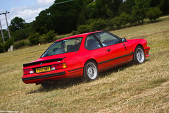 BMW 635CSI. (Denniske) Tags: uk red england canon rouge eos 10 united july saturday kingdom 03 bmw cs dennis rood rosso fos 3rd goodwood 07 csi 2010 noten 635 rt 40d denniske dennisnotencom goodwoodfestivalofspeedbydennisnotencom