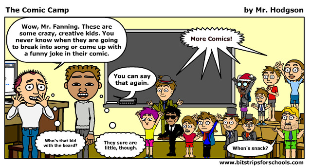 Comic Camp in Bitstrips