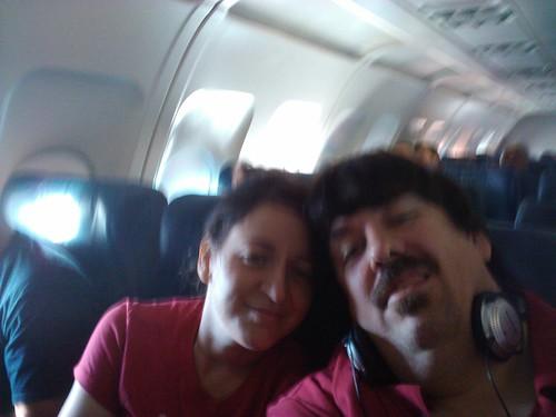 Us in flight