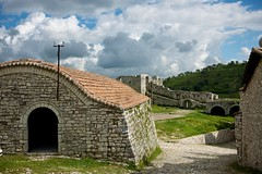Albania, Berat, Citadel, building (Australians Studying Abroad (Christopher Wood)) Tags: citadel balkans albania fortress berat christopherwood australiansstudyingabroad oyyomans