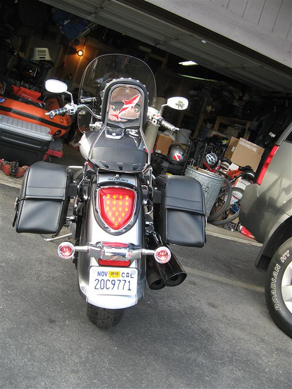 My Ride Customized My Way Suzuki Volusia Forums