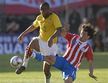 Paraguay Brazil Wcup Soccer