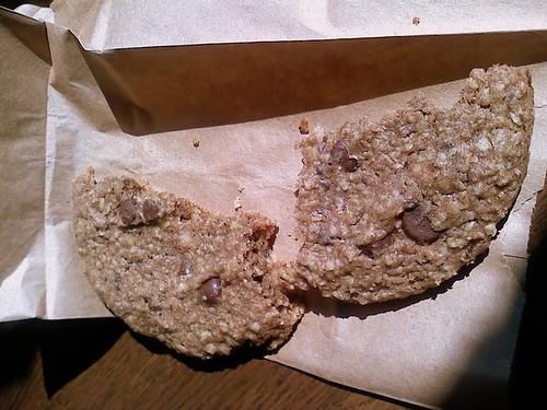 breadland bakery vegan cookie