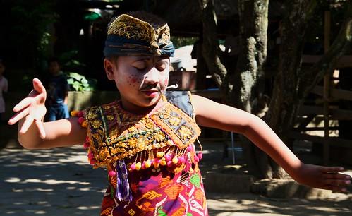 Rudat, traditional Sasak dance ~ Rambitan Village. Lombok, Indonesia 2010