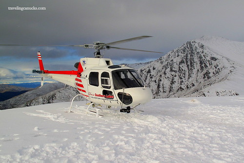 Heli-tour of The Remarkables, Queenstown NZ