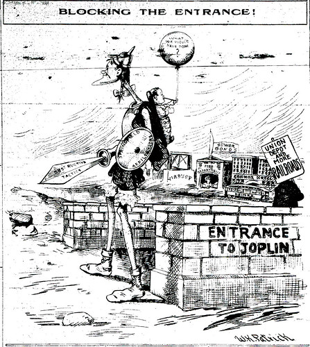 Joplin newspaper cartoon