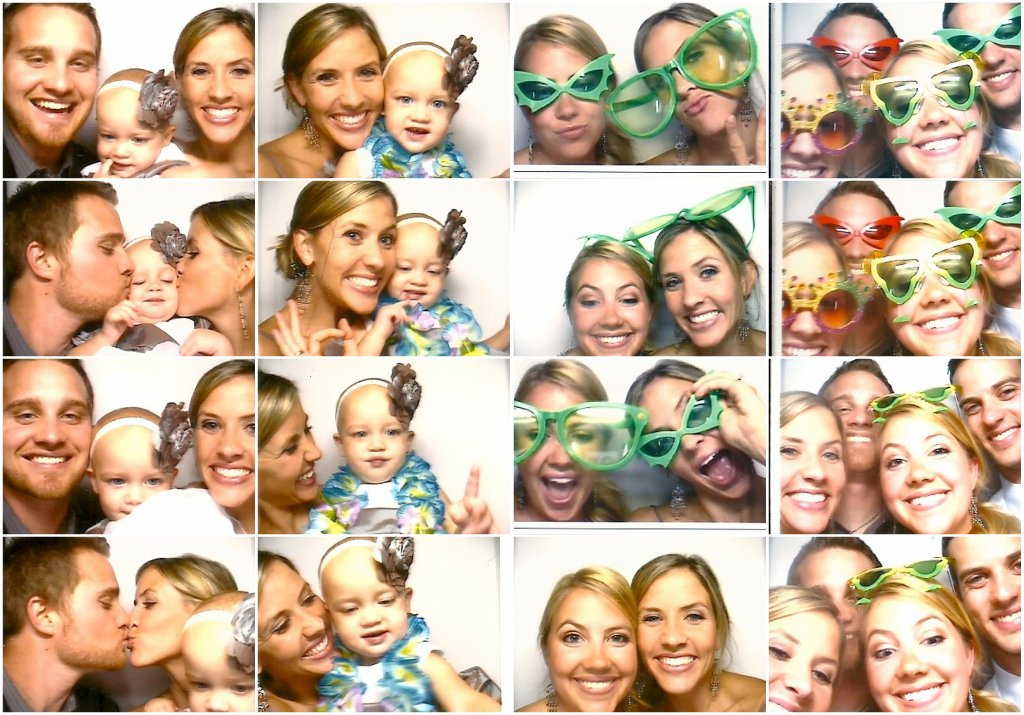 Amy's wedding photo booth