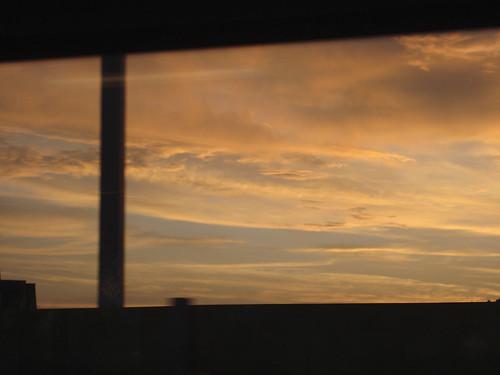 11.7.2010 – Abendhimmel – Hardbrücke – Bus Nr. 33 – 21 Uhr