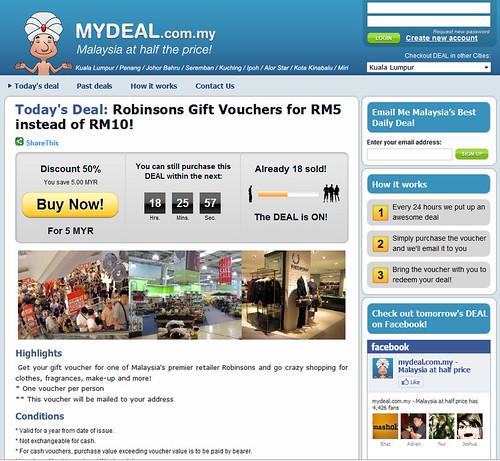 MYDEAL.com.my - Malaysia Group Buy Site