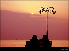 Sunset Calicut Romantic love (aroon_kalandy) Tags: light sunset sea orange sun india beach nature beauty landscape creativity evening adobephotoshop artistic sony awesome kerala fantasy greatshot impressions concept lovely naturelovers calicut kozhikode sihloutte topshots beautifulshot anawesomeshot calicutbeach malayalikkoottam kozhikodebeach sonyh50 aroonkalandy