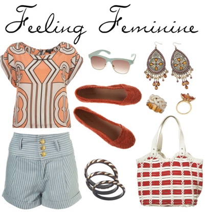 Polyvore: Feeling Feminine