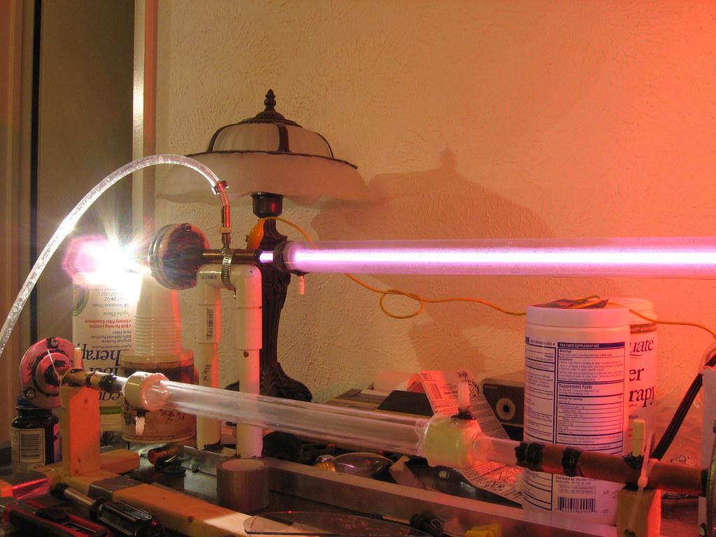 Как сделать углекислотный лазер