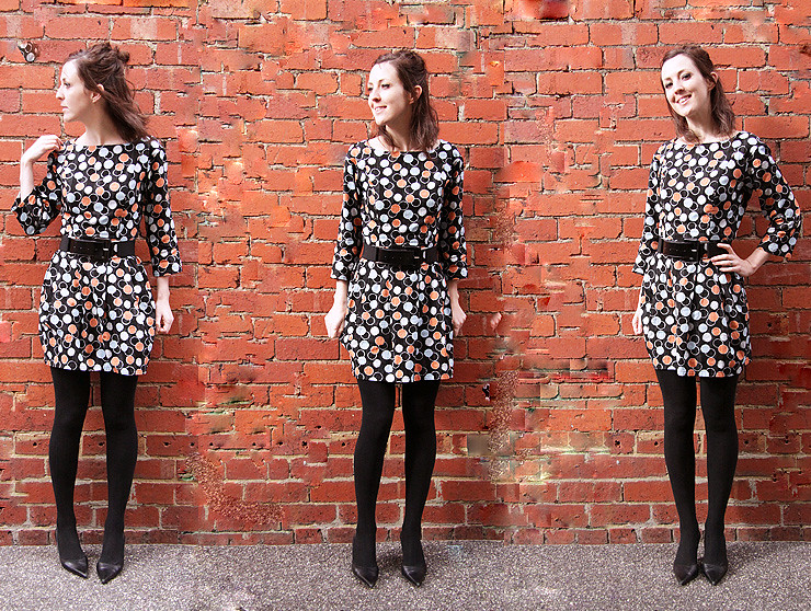 ShortSpottyDress