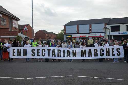 """End Sectarian Marches"""