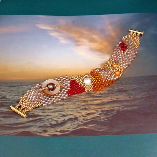 Freeform Coral Bracelet
