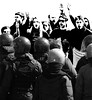 elaborazione 18 marzo 2009 (Remo Cassella) Tags: protesta fumetto sapienza urla ondaanomala nogelmini 18marzo2009ondastudentescasapienza caricapolizia