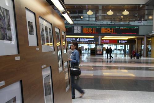 Exposición fotográfica sobre el tren