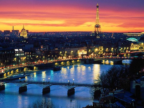 paris at night backgrounds. Paris at Night wallpaper