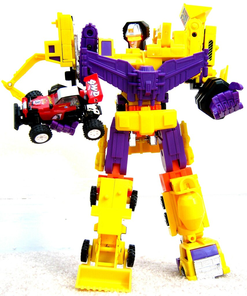 Devastator crush autobot!! LOL