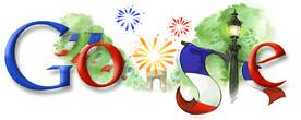 Google Bastille Day 2008