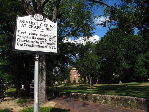 Chapel Hill visit.