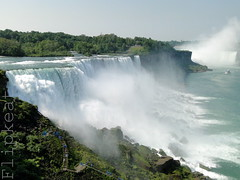 I Can See For Miles (flipkeat) Tags: world park new york usa mist ny beautiful point landscape niagarafalls place photos sony awesome icon niagara falls american waterfalls horseshoe favourite incredible prospect waterscape dschx1