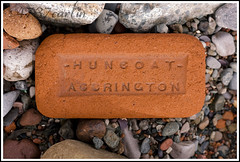 Huncoat Accrington (Brian Sayle) Tags: old england brick industry beach wall canon 50mm condemned factory bricks lancashire clay worn british brickworks ef50mmf18ii brickmaking accrington industrialdecay industrialarchaeology huncoat 400d canon400d