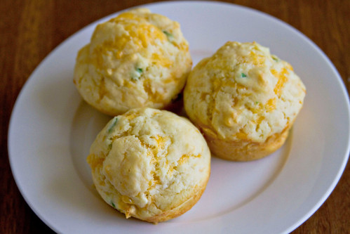 Cheddar Chive Muffins - 5