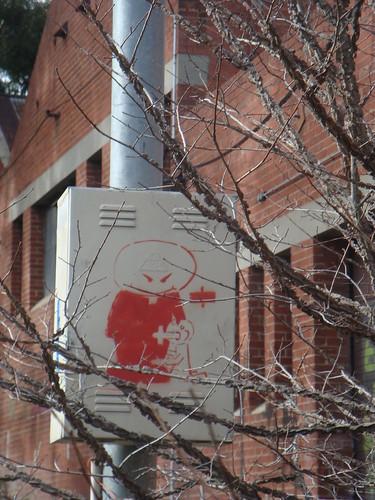 Stencil at LaTrobe Close