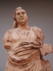 'King Mausolos' (Aidan McRae Thomson) Tags: sculpture london statue ancient mausoleum classical britishmuseum antiquity artemisia halicarnassus mausolus caria sevenancientwonders