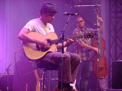 Ryan Montbleau Band at Ottawa Bluesfest 2010