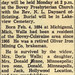OBITUARY 2 - John Richard Walls - April 1957