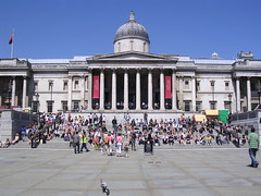 Journey to jubilation - Always avidly appreciating art. (davidezartz) Tags: uk greatbritain blue windows light red england sky people brown white signs black green london art sunshine yellow architecture grey us nikon shadows earth manhattan pigeon flag steps trafalgarsquare journey cupola always lamps pillars feelings philosopher jubilation wc2 thenationalgallery appreciating 1824 objectification e3100 blueribbonwinner supershot thegalaxy nikone3100 bej nikonstunninggallery goldenmix londonwc2 mywinners abigfave anawesomeshot happyartspostcards citrit theunforgettablepictures concordians wonderfulworldmix rubyphotographer damniwishidtakenthat castlespalacesmanorhousesstatelyhomescottages mallmixstaraward dragondaggeraward avidly absolutelyperrrfect newgoldenseal wmphillipsecocentenary2011 journeytojubilation alwaysavidlyappreciatingart 18951985 susannekatherinalanger mindanessayonhumanfeeling