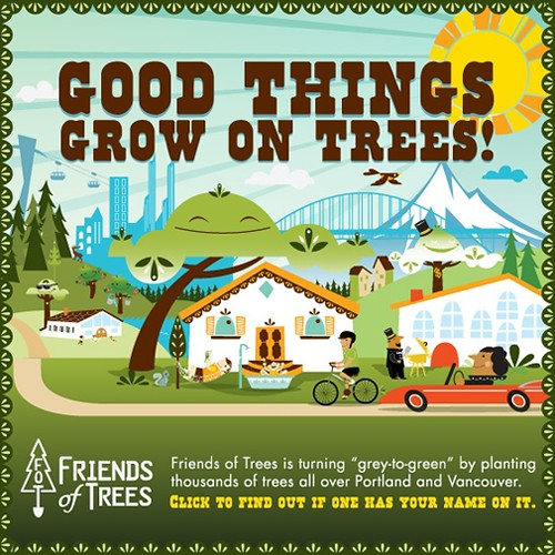 trees are our friends Friends of trees inspires people to improve the a huge thanks to our planting sponsors portland general electric & rigert shade trees and our planting.