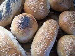 hot dog & hamburger buns