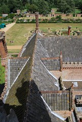Rooftops Oxburgh Hall, Norfolk
