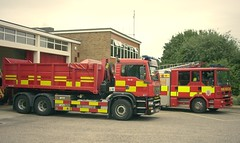 Fire Appliances (messy_beast) Tags: man marshall sabre dennis chelmsford