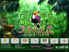 Slots Jungle Casino Lobby