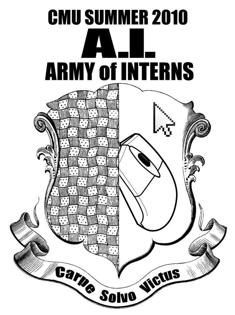 CMU Summer 2010 Intern Program T-Shirt Design