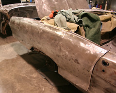 """1965 Pontaic Parisienne Convertible Restoration • <a style=""""font-size:0.8em;"""" href=""""http://www.flickr.com/photos/85572005@N00/4809168943/"""" target=""""_blank"""">View on Flickr</a>"""