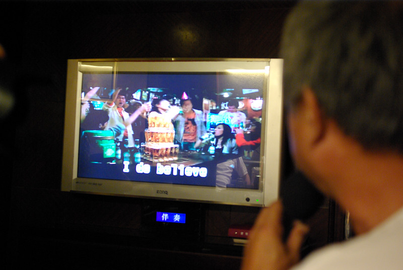 20100718 KTV引吭高歌花絮