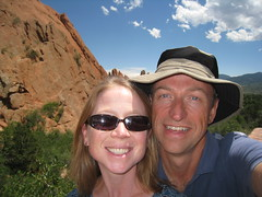 Us in Garden of the Gods