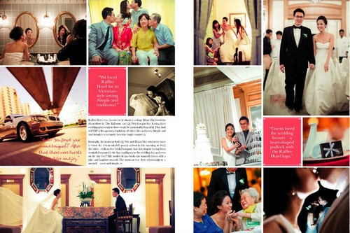 blissful brides magazine real weddings feature